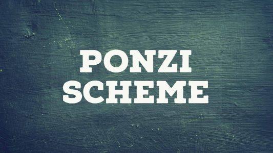 Ponzi Scheme Image