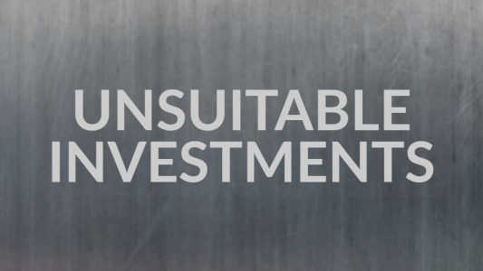 Unsuitable Investments Text