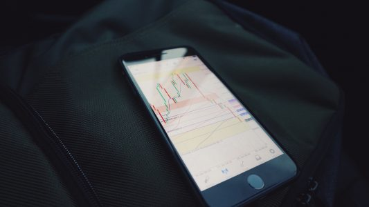 Stock Market on Phone